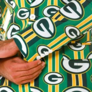 GREEN BAY PACKERS NFL GAMEDAY BLAZER and TIE - 42